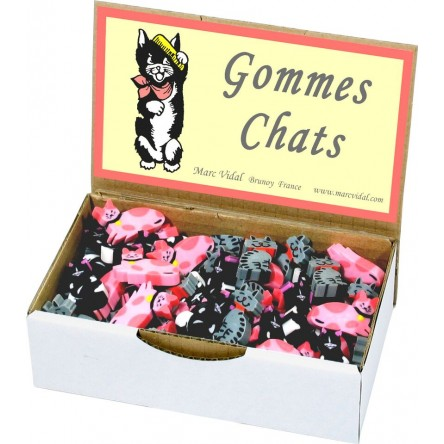 Gomme chat