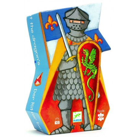 Le chevalier au dragon - 36 pcs