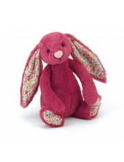 Peluche lapin rose oreilles liberty medium