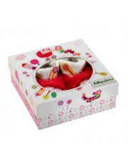 Chaussons roses  Juliette