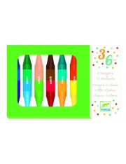 8 crayons doubles - 16 coul.