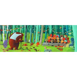 PUZZLE-Forest friends - 100 pcs