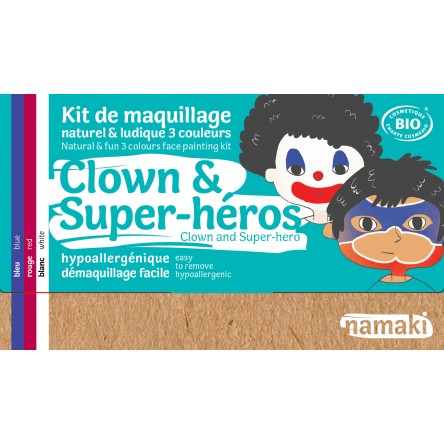Kit de maquillage Clown