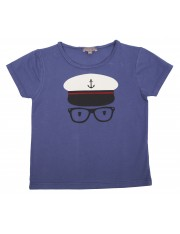 TEE SHIRTCOL RONDMIDNIGHT CAPTAIN