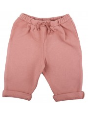 Pantalon molleton fille blush