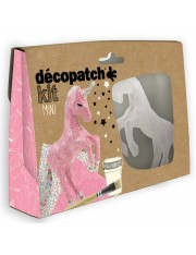 Mini kit decopatch licorne