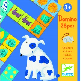 Domino animaux couleurs