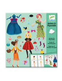 STICKERS AND PAPERDOLLS TROP MODE