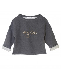 SWEAT LOUISA VERY CHIC PEPER BLACK