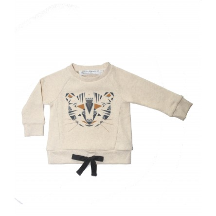 SWEAT TRISTAN PRINT TIGRE