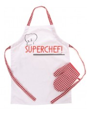 TABLIER ET MANIQUE SUPERCHEF