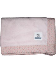 PLAID DOUDOU ROSE POUDRE / POPELINE STARFLY