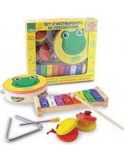 set d'instruments de percussion