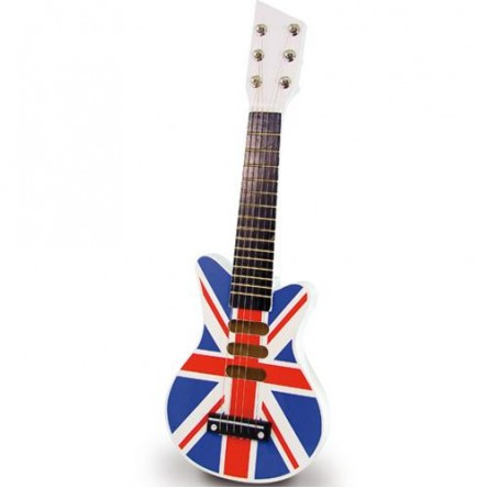 Guitare rock Union Jack