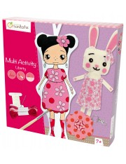 COFFRET CREATIF MULTIACTIVITY POUPEES LIBERTY