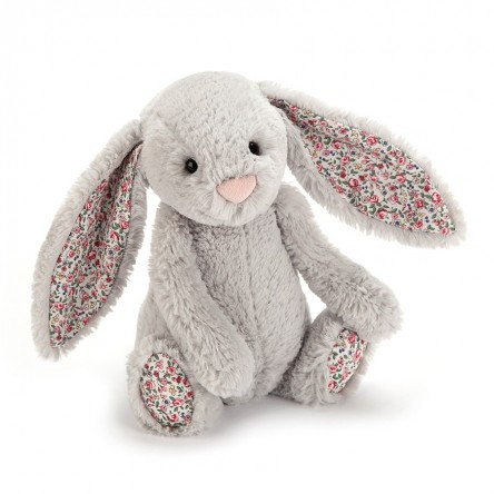 Lapin Bashful gris oreilles liberty medium