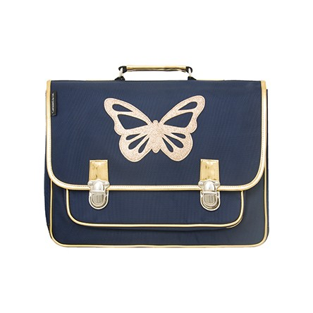 CARTABLE PAPILLON BLEU GRAND