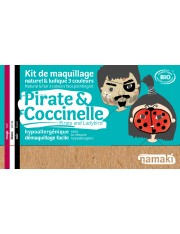 Kit de maquillage Pirate et coccinelle