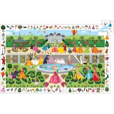 PUZZLE-OBSERVATION-GARDEN PARTY-100PCS