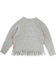 PULL GRIS CLAIR CHINE