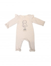 Pyjama bébé fille molleton Cream Vibrations