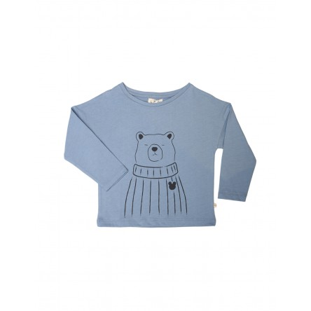 T-Shirt TFORTB Dusty Blue Bear