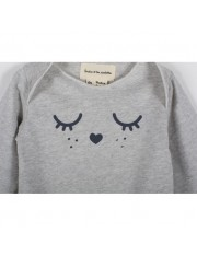 BODY JERSEY CATS EYES GRIS PERLE