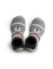 CHAUSSONS CHAUSSETTE OURSON