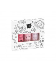 COFFRET DE 3 VERNIS A L'EAU- COOKIE BELLA POLLY