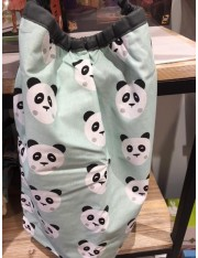 SERVIETTE DE TABLE ELASTIQUEE PANDAS