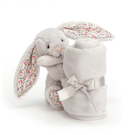 DOUDOU BLOSSOM SILVER BUNNY SOOTHER