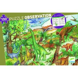 PUZZLE OBSERVATION DINOSAURE