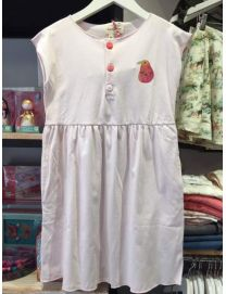 ROBE JERSEY ROSE POUDRE