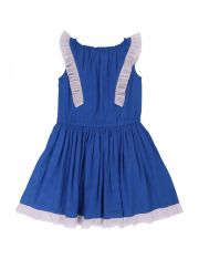 Robe bleu fanion