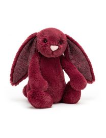 Peluche Lapin Bashfull Sparkly Cassis Bunny Medium